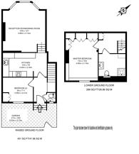 Large floorplan for Hamilton Gardens, St John's Wood, NW8