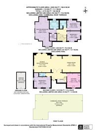 Large floorplan for Eton Avenue, Belsize Park, NW3
