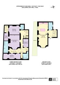 Large floorplan for Westbourne Terrace Road, Little Venice, W2