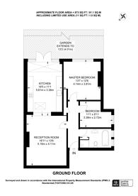 Large floorplan for Sutton Court Road, Grove Park, W4
