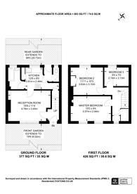 Large floorplan for Athenlay Road, Nunhead, SE15