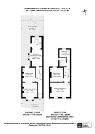 Large floorplan for Lugard Road, Peckham, SE15