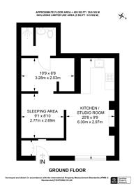 Large floorplan for Redan Place, Bayswater, W2
