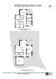 Large floorplan for Orelia, KT4, Worcester Park, KT4