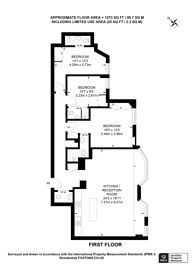 Large floorplan for Brompton Road, SW3, Knightsbridge, SW3