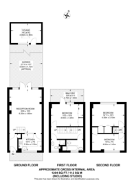 Large floorplan for Queensdale Road, Notting Hill, W11
