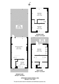 Large floorplan for Queensdale Road, Holland Park, W11