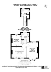 Large floorplan for Elm Park, Brixton, SW2