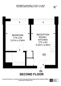 Large floorplan for Balfour Road, Hounslow, TW3