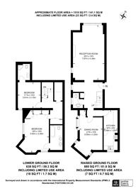 Large floorplan for Sloane Gardens, Sloane Square, SW1W