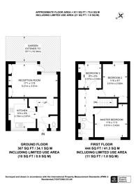 Large floorplan for Deeley Road, Nine Elms, SW8