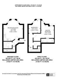 Large floorplan for Outram Road, Croydon, CR0