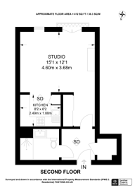 Large floorplan for Chiswick High Road,, Chiswick, W4