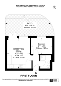 Large floorplan for Vale Royal, Covent Garden, WC2H