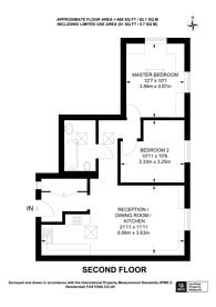 Large floorplan for Villiers Road, Kingston, KT1