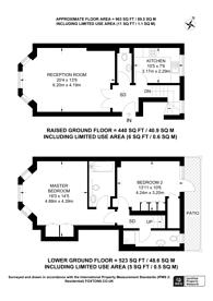 Large floorplan for Campden Hill Gardens, Hillgate Village, W8