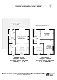 Large floorplan for Central Road, Morden, SM4