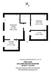 Large floorplan for Beresford Road, Islington, N5