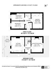 Large floorplan for Station Road, Shalford, GU4