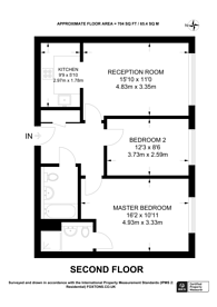 Large floorplan for Faraday Road, Guildford, GU1