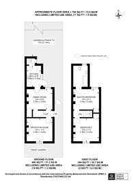 Large floorplan for Pears Road, Hounslow, TW3