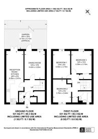 Large floorplan for Tyrell Close, Harrow, HA1