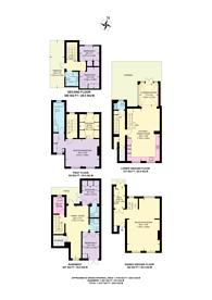 Large floorplan for Gertrude Street, Chelsea, SW10
