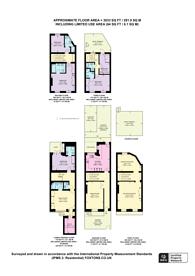 Large floorplan for Wilton Place, Belgravia, SW1X