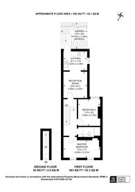 Large floorplan for Ecclesbourne Road, Croydon, CR7