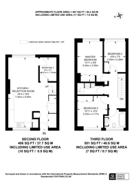 Large floorplan for Searles Close, Battersea Park, SW11