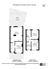 Large floorplan for Knollmead, Tolworth, KT5