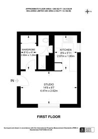 Large floorplan for Spencer Mews, Barons Court, W6