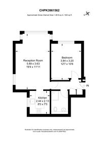 Large floorplan for Cross Road, Central Croydon, CR0