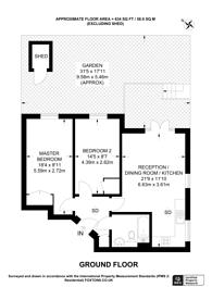 Large floorplan for Bristowe Close, Brixton, SW2