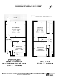 Large floorplan for Loughborough, SW9, Brixton, SW9