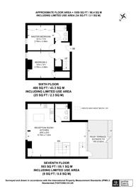 Large floorplan for St Johns Hill, Clapham Junction, SW11