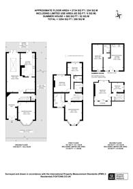 Large floorplan for Chatsworth Road, Mapesbury Estate, NW2
