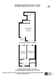 Large floorplan for Mead Place, Hackney, E9