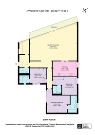 Large floorplan for Wild Street, Covent Garden, WC2B