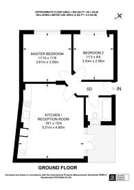 Large floorplan for Moray Mews, Finsbury Park, N7
