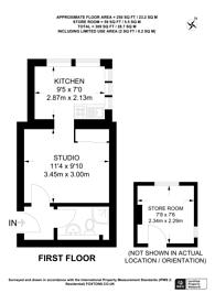 Large floorplan for Fulham Road, Chelsea, SW10