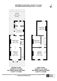 Large floorplan for Northcote Road, Croydon, CR0