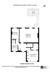 Large floorplan for Buckland Crescent, Swiss Cottage, NW3
