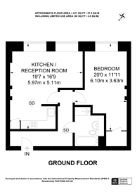 Large floorplan for Glengall Road, Queen's Park, NW6