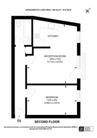 Large floorplan for Pine Grove, Finsbury Park, N4
