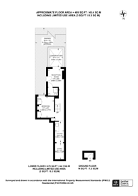Large floorplan for Mill Lane, West Hampstead, NW6