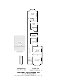 Large floorplan for Mount Nod Road, Streatham Hill, SW16