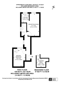 Large floorplan for Cromwell Road, South Kensington, SW5
