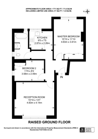 Large floorplan for Victoria Rise, Clapham Old Town, SW4