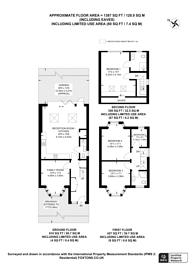 Large floorplan for Wyld Way, Wembley Park, HA9